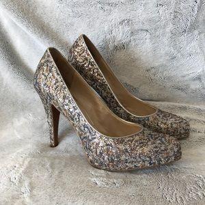 Nine West Sparkly Heels